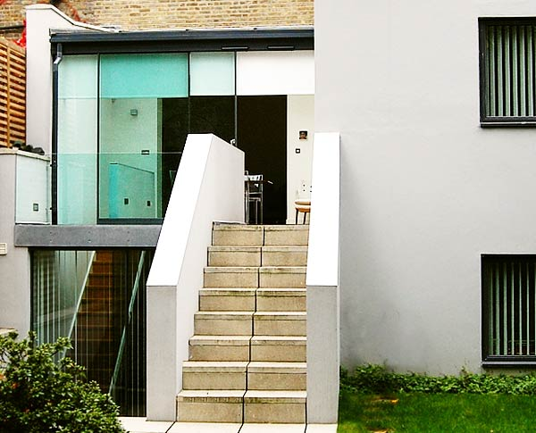Basement extension and ground floor conservatory, West Hampstead, London