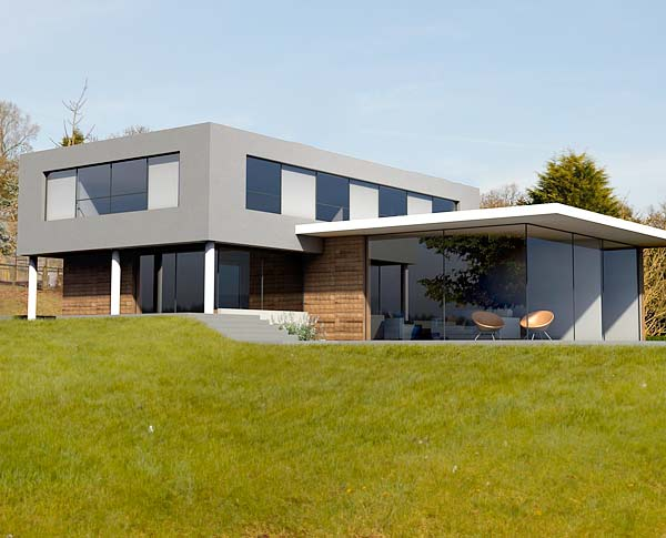 House Plans And Design Modern House Plans Glass Front